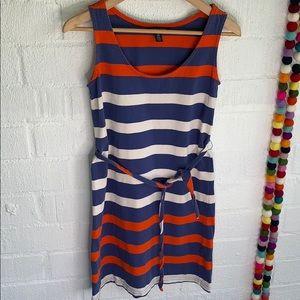 Tommy Hilfiger Essential Striped Dress w/ Belt